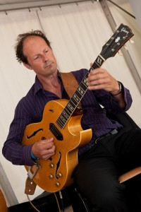 Reinier with Gibson ES175